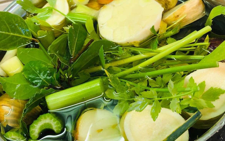 Gemüsebrühe