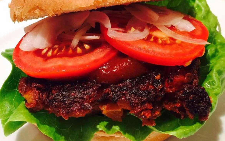 Jackfruitburger