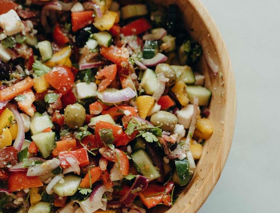 griechischer Hirtensalat