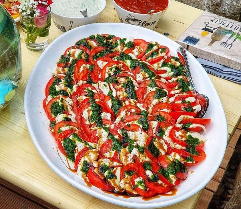 Tomate-(Cashew)Mozzarella